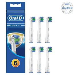 Braun Oral-B 6 Cepillos Precision Clean Protec. Bacter.