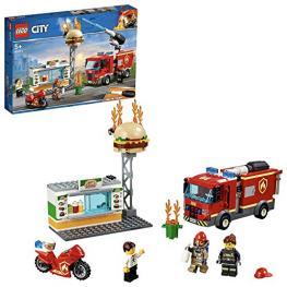 Lego City 60214 Rescate del Incendio En la Hamburgueser