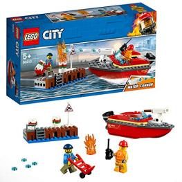 Lego City 60213 Llamas En el Muelle