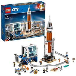 Lego City 60228 Cohete Espacial de Larga Distancia y Centro de C