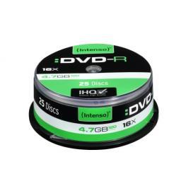 1X25 Intenso Dvd-R 4,7Gb 16X Speed, Bobina