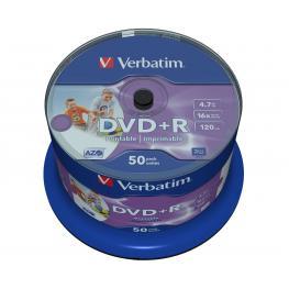 Dvd+R 4.7Gb 16X Photo Ink Printsupl
