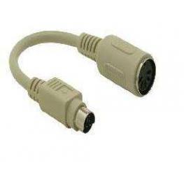 Adaptador Din5 H-Mdin6 M C/cable