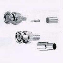Conector Bnc Macho Rg-174 Flexcom