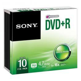 Dvd+R  16X  Slim Case          Supl