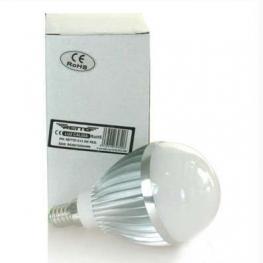 Bombilla Led E14 5W Redonda Retto Luz Fria 220V 480 Lumens Luz Color 6500K