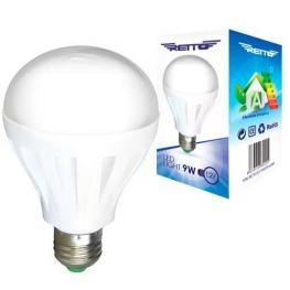 Bombilla Led E27 9W Eco Redonda Luz Fria 220V 480 Lumens Color 6500K
