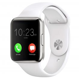 Smartwatch Leotec Pulse Blanco - Pantalla 1.54/3.91Cm Ips Tactil - Pulsometro - Sim 2G - Bt - Camara 0.3Mp - Microfono+Altavoz - Android / Ios