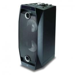 Altavoz Conceptronic Bluetooth Disco 20W Reproduce Mp3 Desde Usb/microsd Luces Led Mando A Distancia Incluye Micro y Funcion Karaoke Color Negro