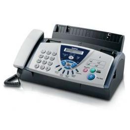 Máquina Facsímile/copiadora Brother Fax-T106 - Transferencia Térmica - Monocromática - Papel Normal Fax