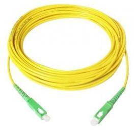 Cable Fibra Optica Monomodo Sc Apc/sc Apc 9/125- 1Mts.