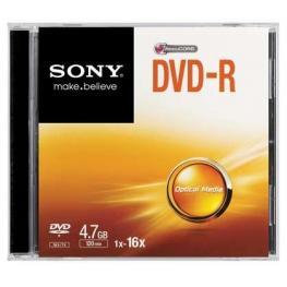Dvd-R  16X  Slim Case          Supl