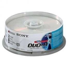 Dvd+R  16X  Spindle-Bulk 25 Pcssupl