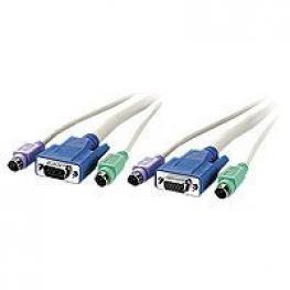 Cable Kvm 2 Vga M-H + 2 Ps/2 M 10Mts Acc-2010