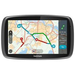 Tomtom Go 6100 Speak&go Mundo 6 Mapas de Por Vida Bluetooth Traffic Via Smartphone