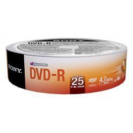 Dvd-R  16X  Spindle-Bulk 25 Pcssupl