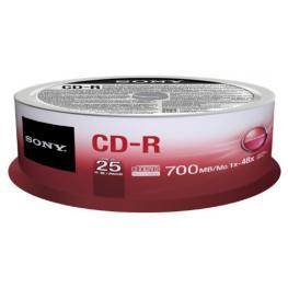 Cd-R 48X 700Mb Spindle 25Pcs   Supl