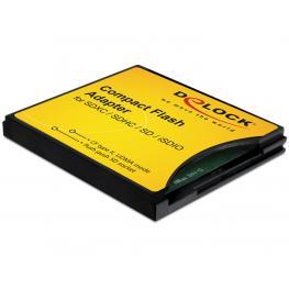 Adaptador Compact Flash A Sd / Mini Sd / Micro Sd