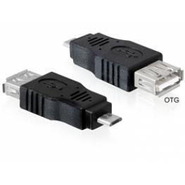 Adaptador Usb Micro-B   Usb2.0 A Hembra Otg