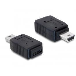 Adaptador Usb Mini M/ Usb Micro A+B