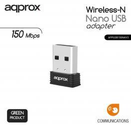 Adaptador Usb N Inalambrico Nano 150 Mbps