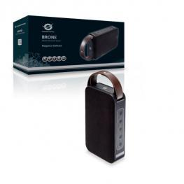 Altavoz Conceptronic Bluetooth Brone  Microsd Puerto Usb  Radio Fm Color Negro