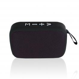 Altavoz Portatil Bluetooth 3W (Negro)