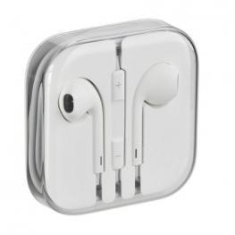 Auriculares Originales Earpods de Apple Con Mando y Micrófono Bulk/oem En Estuche de Plástico - Minijack 3.5Mm, Sin Caja de Carton