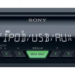 Autoradio Sony Dsx-A202Ui 55Wx4 Mega Bass Ipod Usb Aux