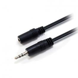 Cable Alargador Audio Equip 14708207 - Conectores Jack 3.5 Macho / Hembra - 2.5 Metros