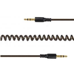 Cable de Audio Espiral Estéreo de 3,5 Mm, 1,8 M