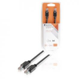 Cable de Red Utp Cat5E de Rj45 Macho A Macho de 2,00 M En Gris