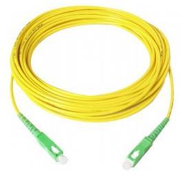 Cable Fibra Optica Monomodo Sc Apc/sc Apc 9/125U 15Mts. Lzh