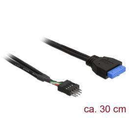 Cable Usb 3.0 Socket A Usb 2.0 Placa 0.30 Mts