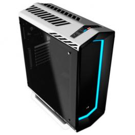 Caja Semitorre Aerocool Project 7 P7C1Wh White Usb3.0 Led Frontal Panel Tempered Glass