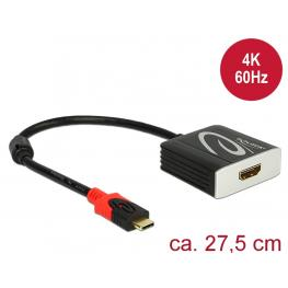 Delock Adaptador Usb Type-C™ Macho  Hdmi Hembra (Modo Alternativo Dp) 4K 60 Hz