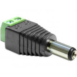 Delock Adapter Dc 2.1 X 5.5 Mm Male  Terminal Block 2 Pin