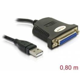 Delock Cable Adaptador de Usb- Paralelo (Db25H)