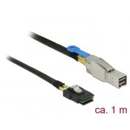 Delock Cable Mini Sas Hd Sff-8644  Mini Sas Sff-8087 de 1 M