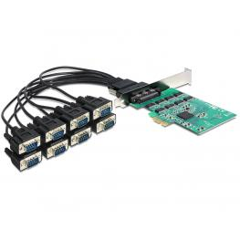 Delock Pci Express Card  8 X Serial Rs-232 High Speed 921K
