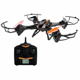 Dron Denver Dch-600 - 60Cm Diametro - 4 Canales / 6 Ejes - Funcion Gyro -Camara 2Mpx - Video 720P@30Fps - Bateria 1000Mah - Mando Control 2.4Ghz