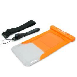 Funda Acuatica Leotec Universal Para Smartphone Color Naranja Lewbag01O