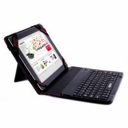 Funda Bluetooth Universal Para Tablet 9.7 & 10.1 Con Teclado (Negro)
