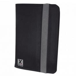 Funda Con Atril, Universal de Nylon Para Tablet. Tamaño 7 Negra