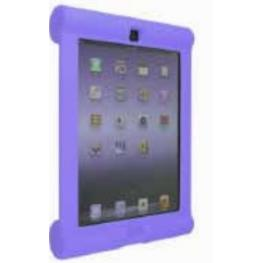 Funda Protectora Anti Golpes Para Ipad 2 y New Ipad (Purpura)