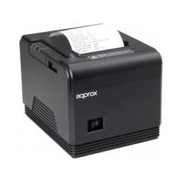 Impresora de Tickets Termica Approx Apppos80Am3 - 200Mm/s - Papel 80Mm - Corte Automatico y Manual - Usb / Lan / Rs232 / Rj11