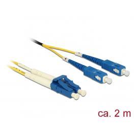 Kabel Lwl Lc/sc 09/125µ 2M Os2 Delock
