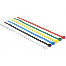 Kabelbinder Farbig 100 Stk L200 X B3,6 Mm Delock