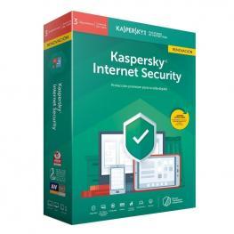 Kaspersky Internet Security 2020 -  3 Usuarios 1 Año Renovacion