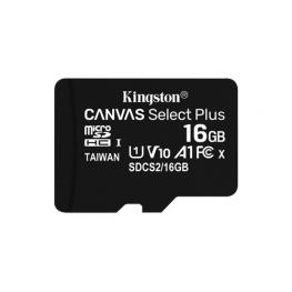 Memoria 128Gb Canvas Select Plus Microsd Multi Packs Of 3 Kingston